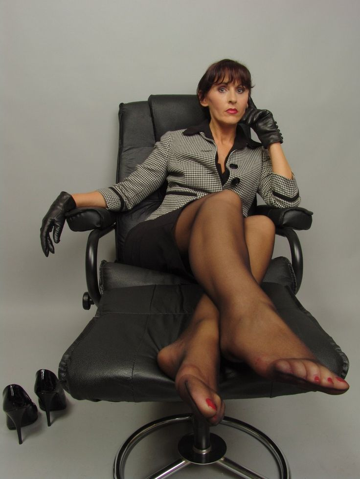 Office Gals In Pantyhose Feet Fetish