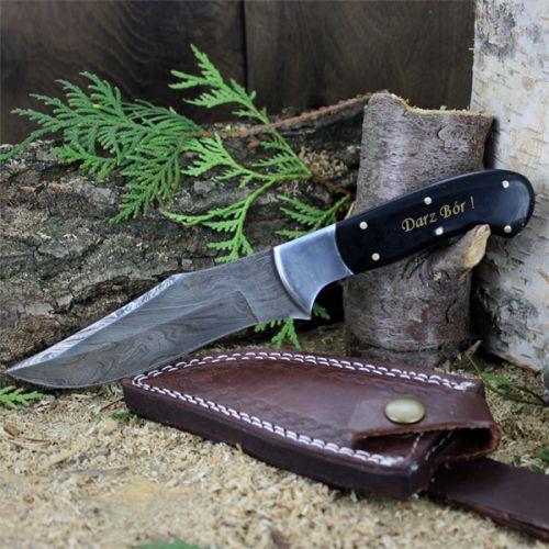 Dla pasjonata myślistwa, niezwykle wytrzymały nóż ze stali damasceńskiej będzie świetnym rozwiązaniem na podarunek dla Taty.  http://bit.ly/1Fafy5m