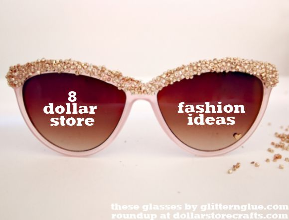8 Dollar Store Fashion Ideas: Fall Fashion Craft Challenge Winner and Best-Of Roundup