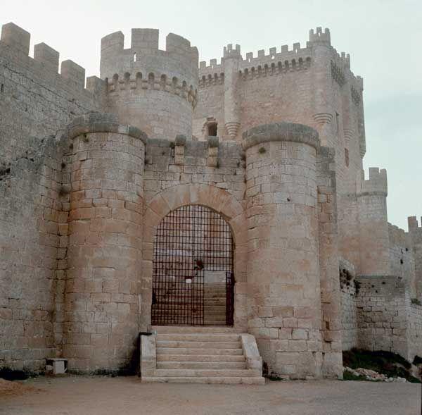 Castillos medievales de España - Castillo de Peñafiel