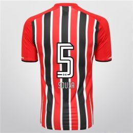 Sao Paulo FC 2015-16 Season Away Souza #5 Jersey [PF17080975650]