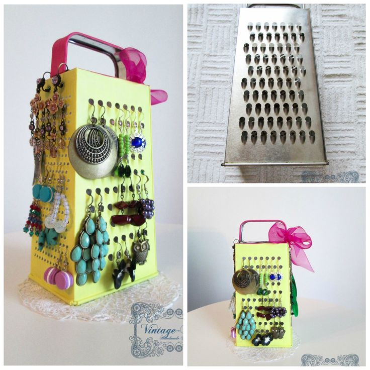 Before and after♥ how i decorate my grater. https://www.facebook.com/AnaVintageBlue?ref=hl