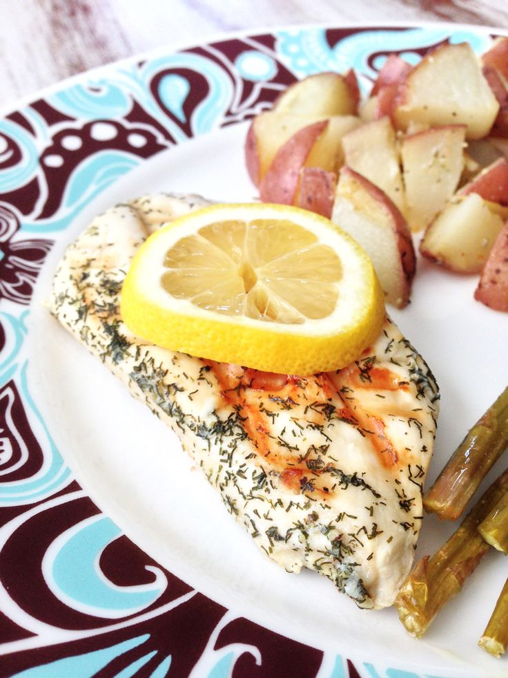 Skinny Lemon Dill Chicken — The Skinny Fork