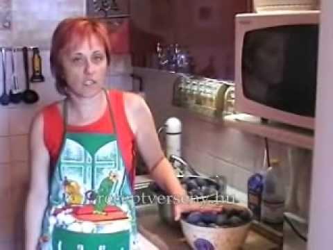 Szilvalekvár főzése sütőben videó recept - receptverseny.hu - YouTube