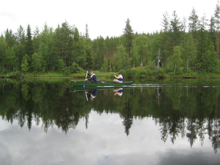 hirvipirtit lapland cabins, Taivalkoski Finland, canoeing on river Iijoki