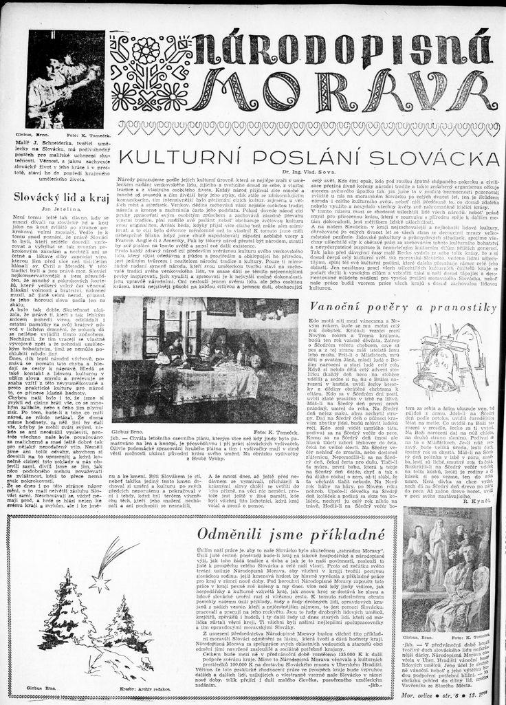 Moravská orlice, 13.12.1942