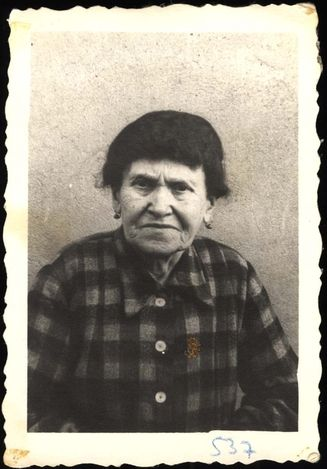 Trzebinia, Poland, Sara Szklurcsyk, a Jewish woman.