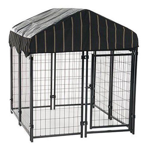 4 x 4 x 4.5'  Heavy Duty Dog Cage https://smile.amazon.com/dp/B00R1OQ1OC/ref=cm_sw_r_pi_dp_x_KTyYybTWF7DQK