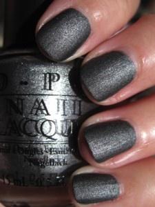 OPI...love this!: Matte Nails, Nail Polish, Nails Colors, Coal Outside, Nailpolish, Beautiful, Opi Nails, Nails Polish, Opi Baby