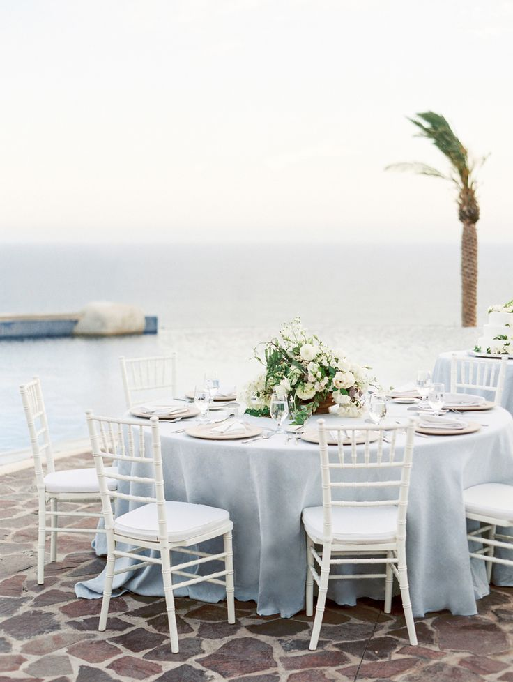 Cabo San Lucas destination wedding at Pueblo Bonito Sunset Beach - Planned by Meggie Francisco. Photo by Lauren Peele, Floral by Bows and Arrows. Rentals by Main Event Cabo.