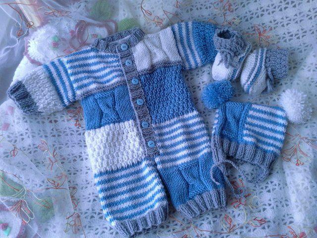 Свяжу на заказ новорожденным: комбинезоны, костюмы на выписку от пользователя «altajka» на Babyblog.ru