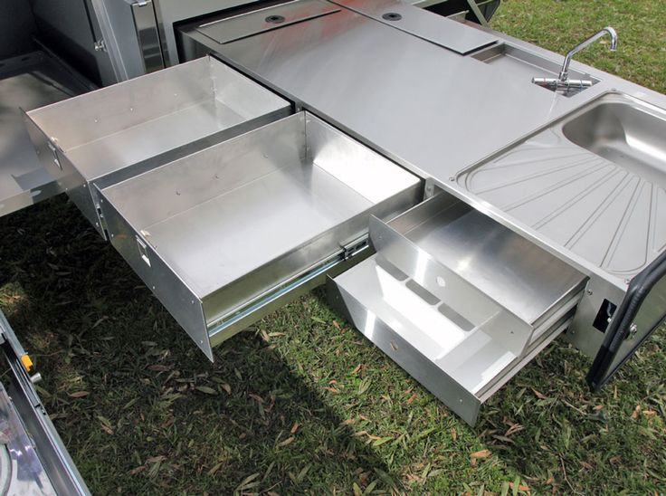 Stainless Steel Top Master Kitchen And Storage Off Road