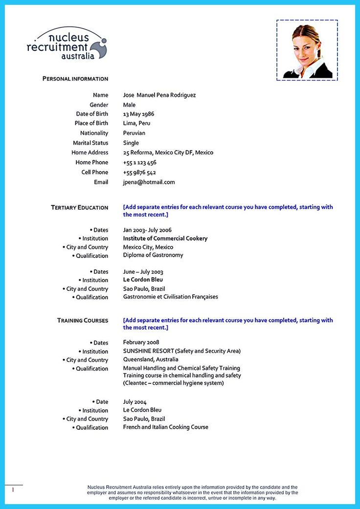 22+ Chronological resume format sample Resume Examples