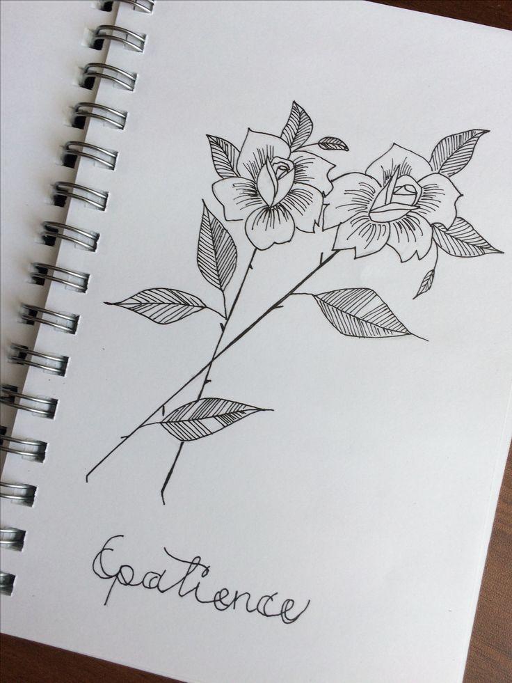 Рисунок роз.