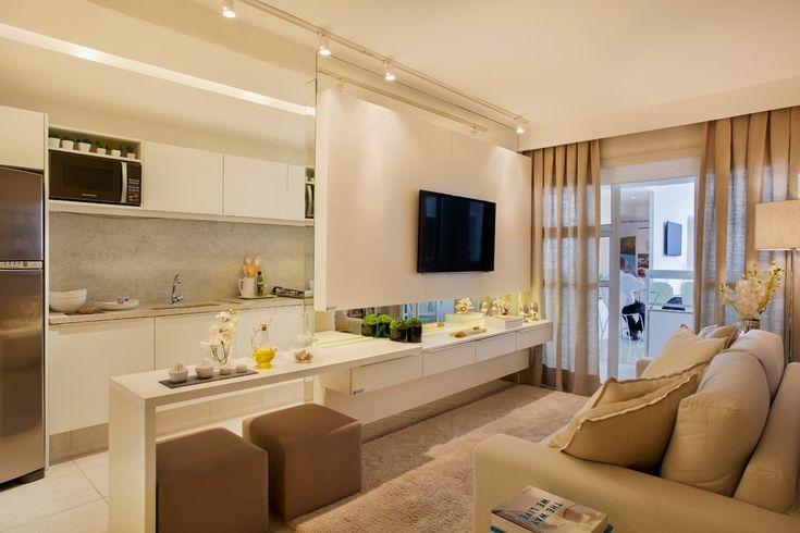 Como decorar salas pequenas: Dicas + Inpirações