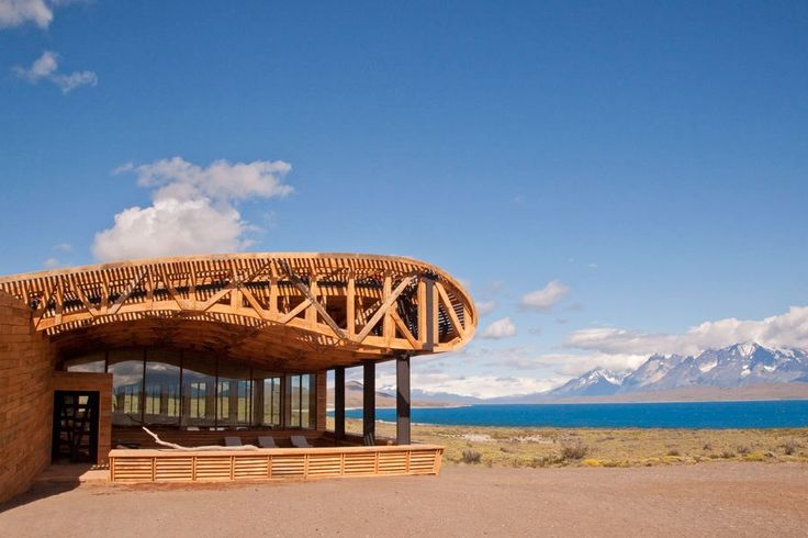 Eco-friendly Luxury Hotels- HONEYMOON!!! the Tierra Patagonia in Torres Del Paine, Chile. DREAM