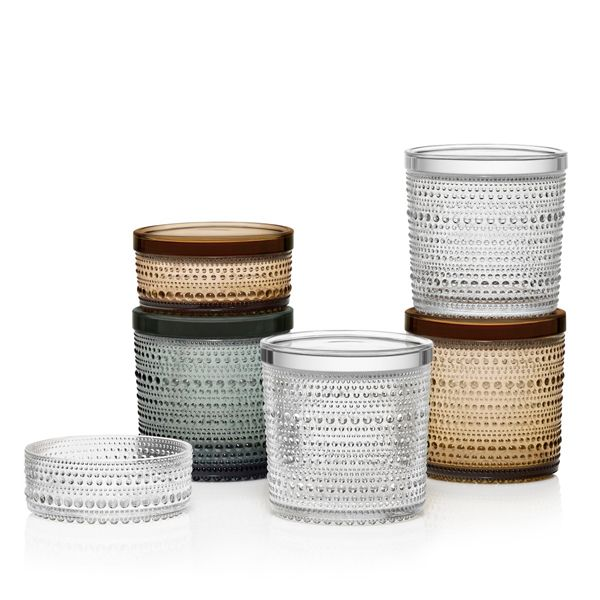 Iittala Kastehelmi jars | Iittala Kastehelmi | Dishware | Tableware | Finnish Design Shop