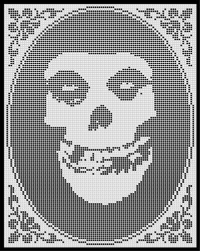 Crochet Stitch Generator : ... on Pinterest Perler bead patterns, Cross stitch and Day of the dead