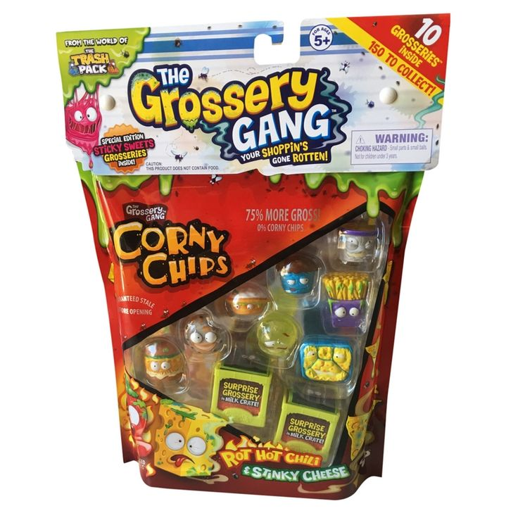 Toy For Ages Five To Seven : Yucky shopkins the grossery gang season is here
