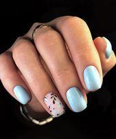 130 Schöne Manikürenägel für kurze Nägel Design-Ideen -Quadrat & Mandelnägel – Acrylic nails
