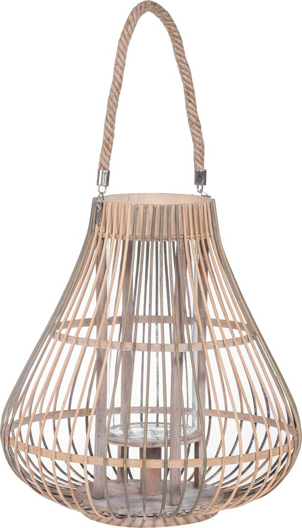 Cechy i korzyści: Bambusowy lampion z uchwytem, do postawienia lub powieszenia. Dostępny w dwóch rozmiarach – małym i dużym. Lampion Bula można miksować i zestawiać z lampionem Lava, który także ...