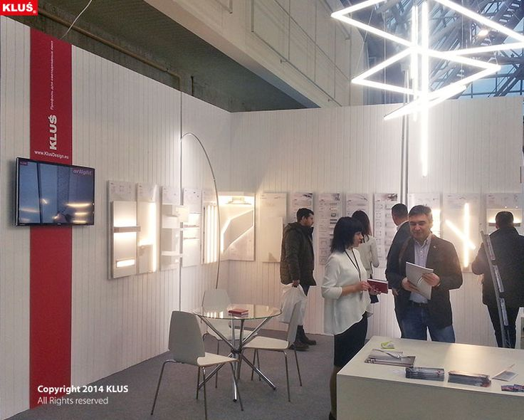 Interlight Moscow. Presenting KLUS lighting concept of the KUBIK 45 profile.