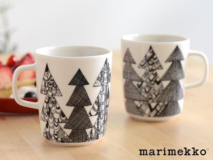 【楽天市場】marimekko(マリメッコ)KUUSIKOSSA(クーシコッサ)マグカップ:CORTINA(コルティーナ)