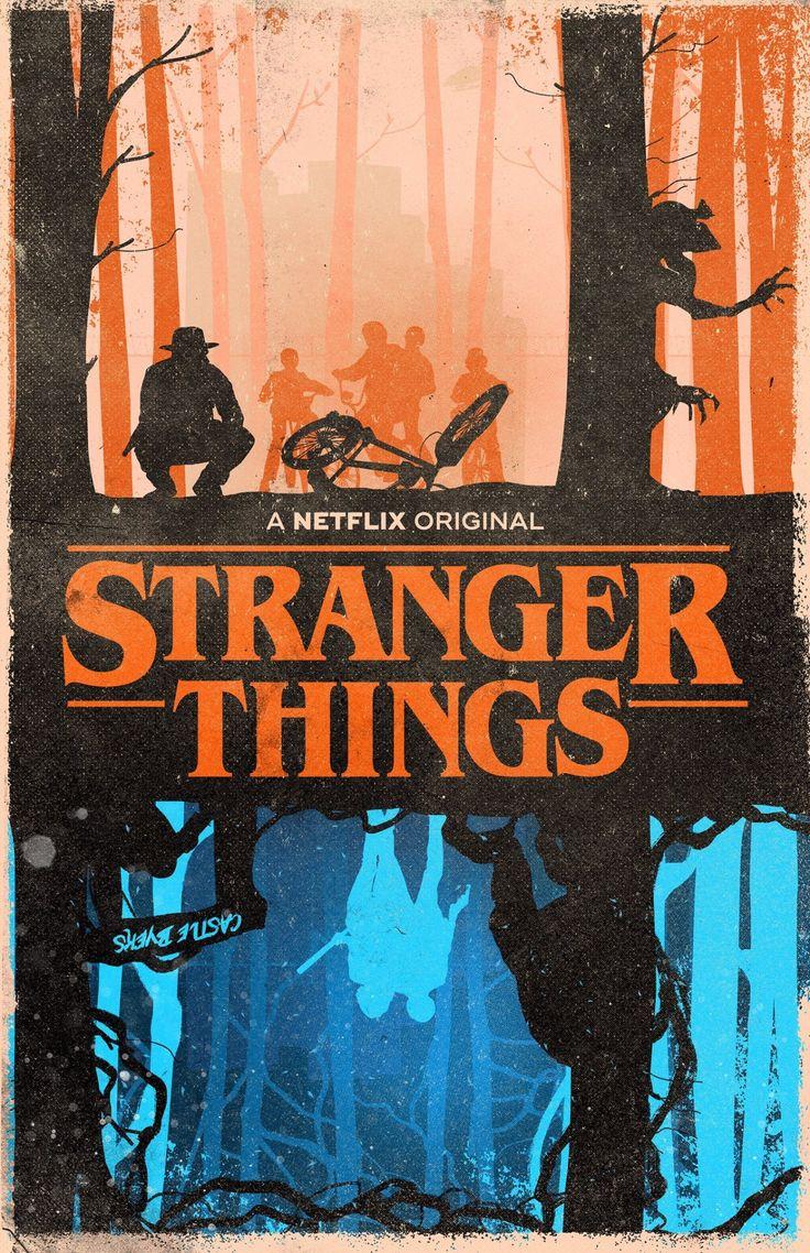 stranger things fan poster 3