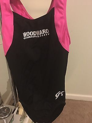 Woodward Gymnastics Camp GK Leotard Size AXS