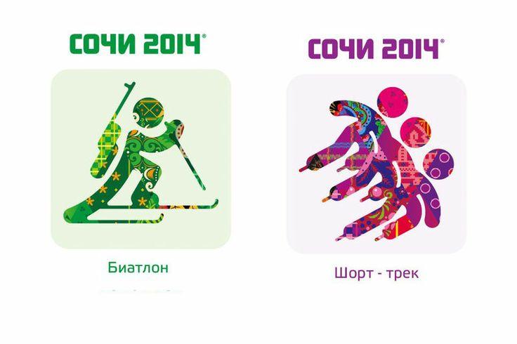 Actualité / 22 pictogrammes pour les JO d'hiver 2014 / étapes: design & culture visuelle