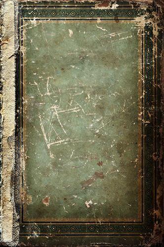 7116 Green Vintage Backdrop - Backdrop Outlet