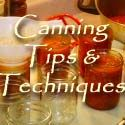 Lesley's Recipe Archive: Canning Tips & Techniques.. As I have time I'll weed through all these recipes and pin the best ones onto PreservNation