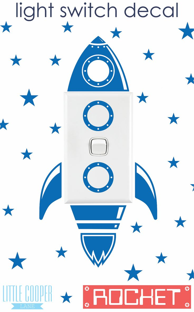 86 best baby room styling images on pinterest babies rooms baby free postage australia rocket light switch vinyl wall decal sticker very cute spaceship for nursery or kids room id 1343