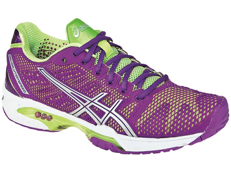 New Asics Gel Solution Speed 2 shoes are here! Lightweight performance  wrapped in a colorful upper.