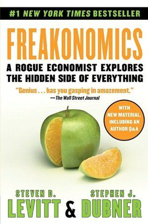 """Review for """"Freakanomics"""" - Reading to Distraction"""