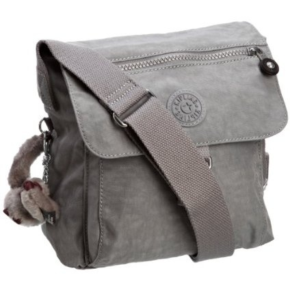 Kipling Women's New Raisin Shoulder Bag Pigeon Grey K13611 GOT THIS IN DARK  GREY