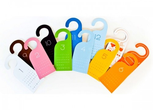 Best Door Hangers Images On   Door Hangers Creative