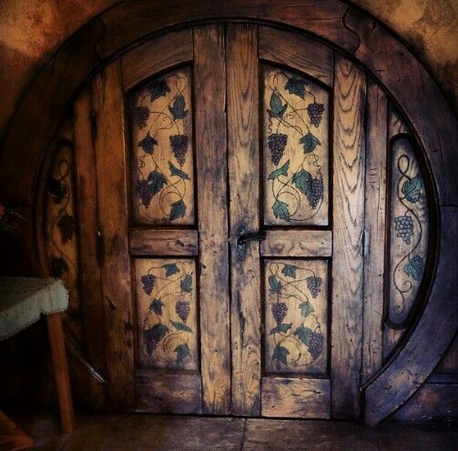 Hobbit Hole Door