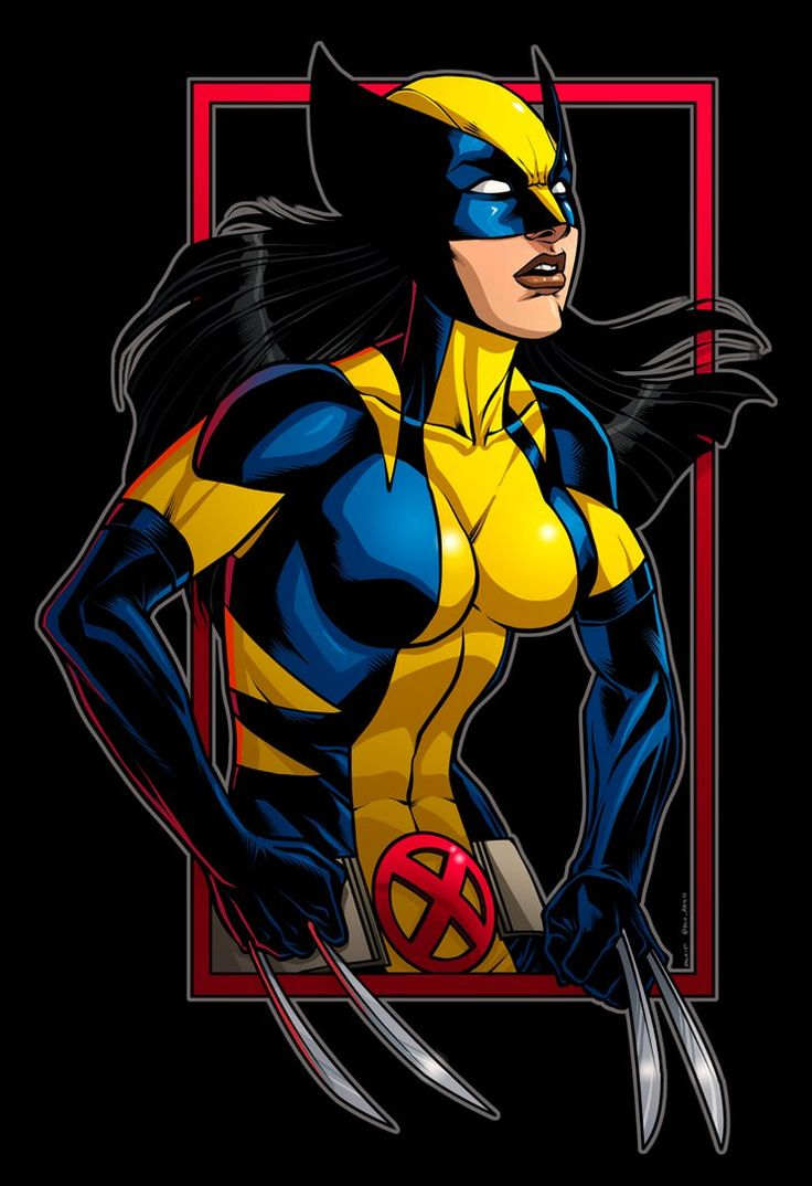 Cartoon Girl Wallpaper Wolverine By Dwaynebiddixart On Deviantart X 23