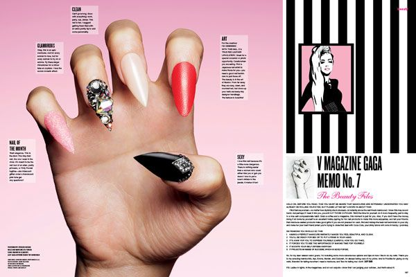 Lady Gaga nails #manicure