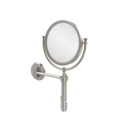 Allied Brass Universal Extendable Mirror Magnification: 5x, Finish: Satin Nickel