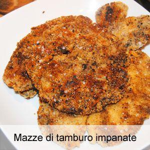 ricetta mazze di tamburo fritte e impanate