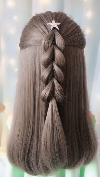 Me encanto el peinado , gracias por una opción mas 😁 #braidedhairstyles
