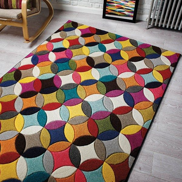 Spectrum Mambo Multicoloured Rugs - Free UK Delivery - The Rug Seller