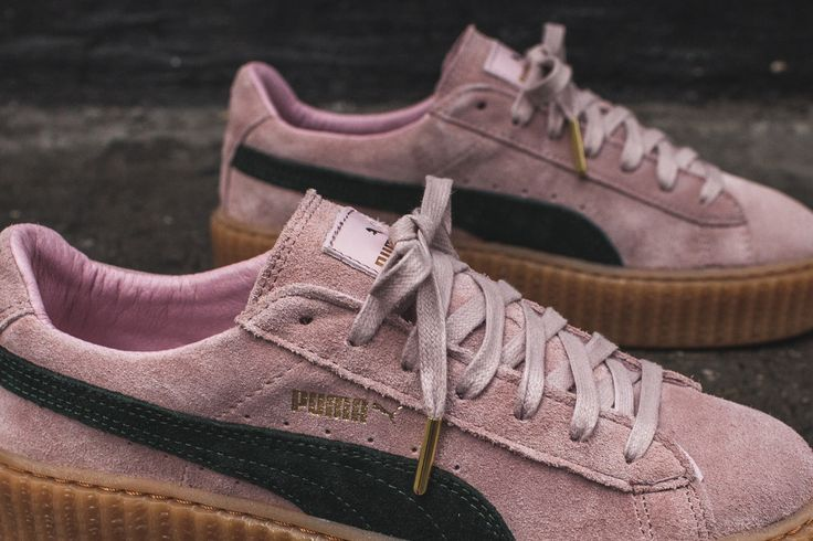 light pink puma creepers