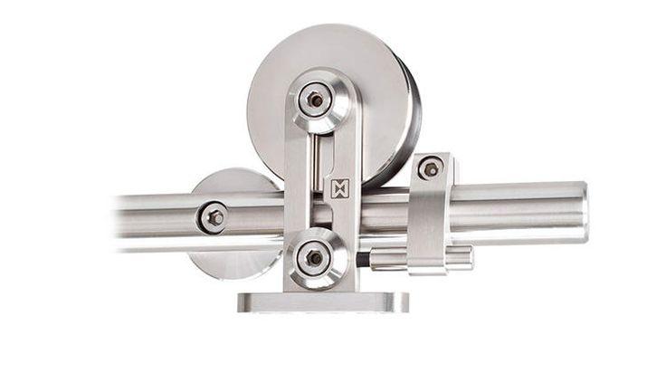 BARTELS DOORS :: Bartels - Modern Custom Interior Doors and Door Hardware Made in Germany - PRODUCTS - Modern Barn Door Hardware - Standard Models - Supra [ST.1009.SU]