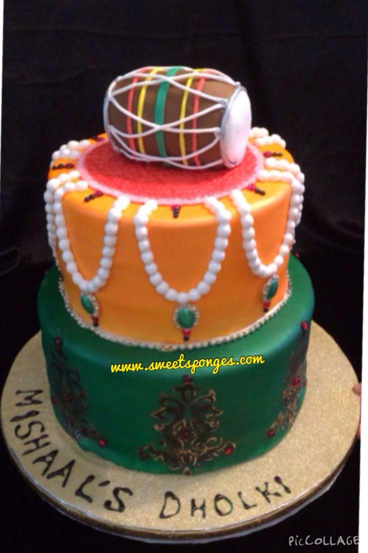 Mehndi Cake Toppers : Mughul theme cake sweetsponges mehndi and dholki