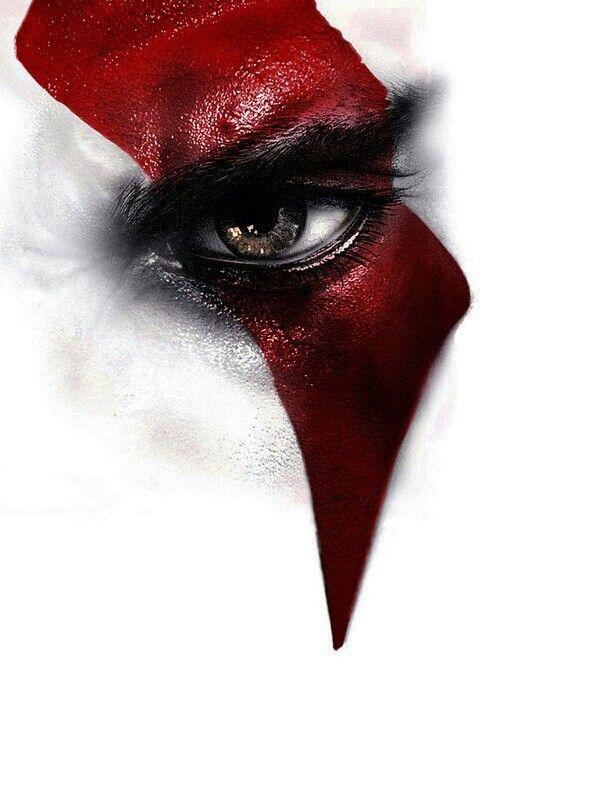 Kratos face | Fotos Vídeo Games | Pinterest | Descubra as ...