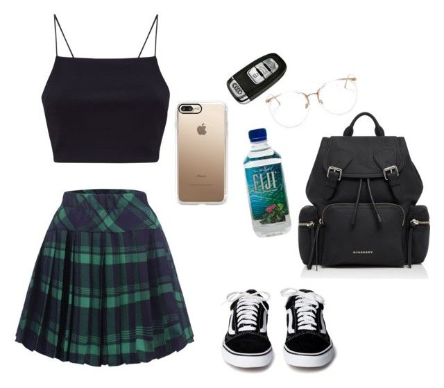 """""""Untitled #137"""" by its-me-rose on Polyvore featuring Burberry, Linda Farrow and Casetify"""