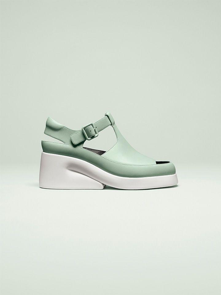617c220c78b Zapatos mujer primavera-verano 2019 de Camper, la paleta de colores ¡es una